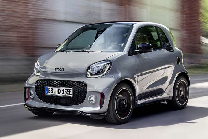 smart EQ fortwo edition one