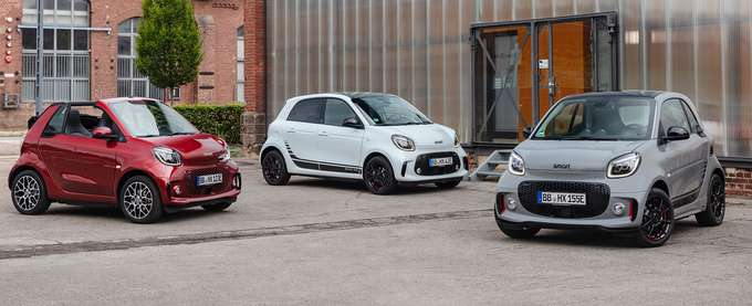 smart EQ forfour Leasing