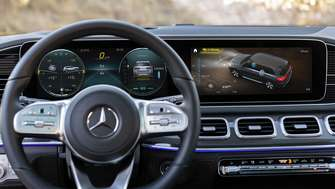 Mercedes-Benz GLS Cockpit MBUX 2019