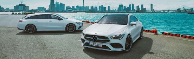 Mercedes-Benz CLA Coupé und Shooting Brake 2019