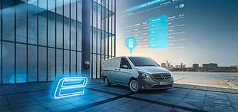Mercedes-Benz eVito 2020 Kastenwagen an Ladestation