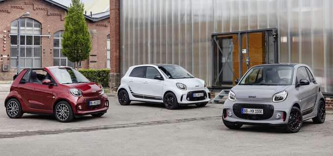 Leasing smart EQ fortwo, forfour und fortwo cabrio