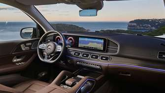 Mercedes-Benz GLS Interieur 2019