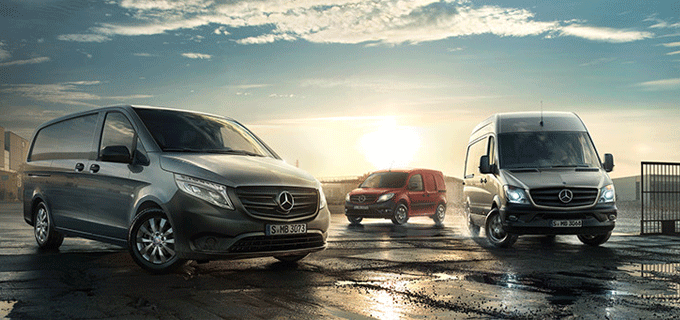 Mercedes-Benz Transporter-Aktionen