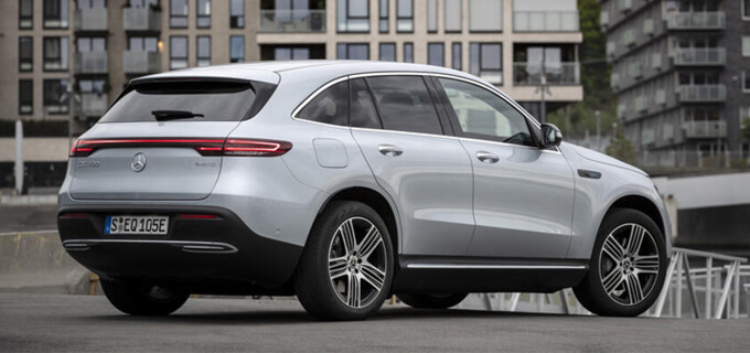 Mercedes EQC 400 4Matic im Test