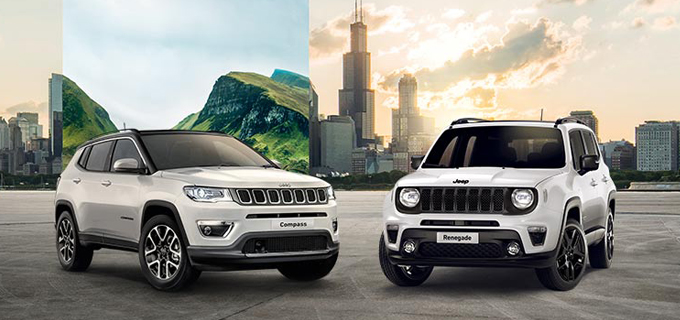Jeep® Renegade und Jeep® Compass