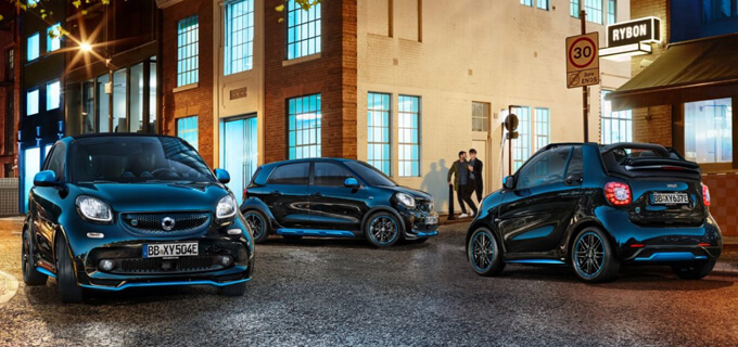 smart EQ fortwo, forfour und fortwo cabrio